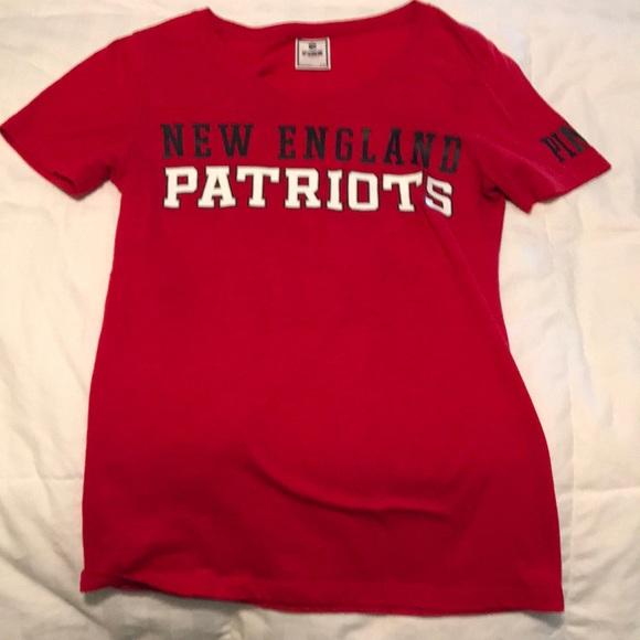 Victoria Secret Pink New England Patriots Tee. M 5adba46f84b5ce064d180b8b f3f729cef